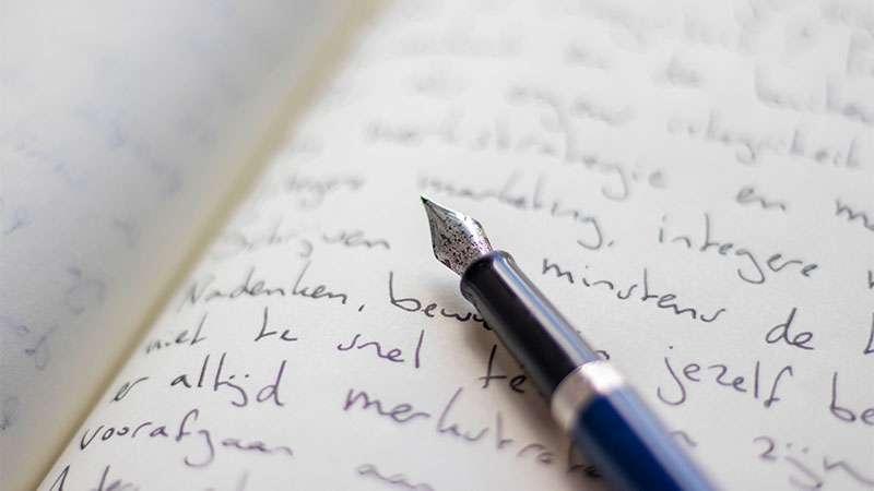 Schrijfcoaching-vulpen